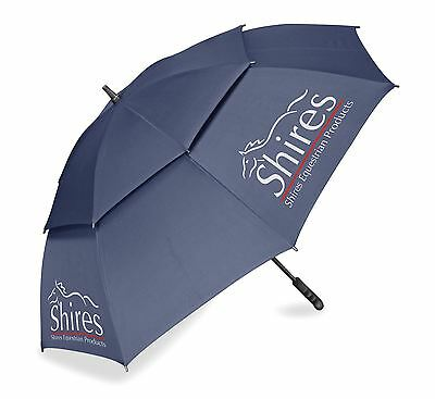 Shires Vented Golf Umbrella Stable Yard Eventing Shows