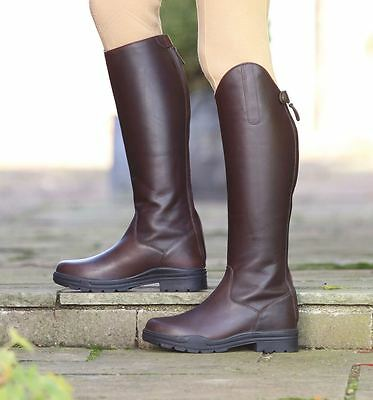 Moreton Long Leather Riding Boots Horse Riding Footwear Stable Yard
