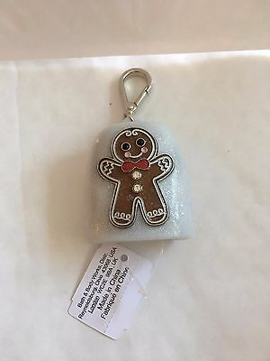 Bath & Body Works GINGERBREAD MAN Pocketbac Gel Holder