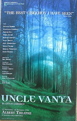 Uncle Vanya, 1996, Albery Theatre, 12.5 x 20 Inch Poster