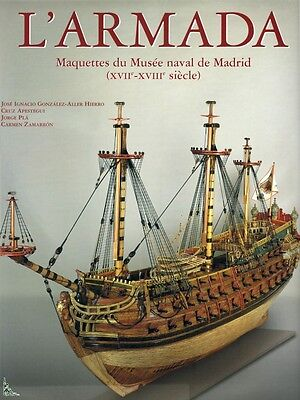 Armada, Models of Naval Museum of Madrid, French book