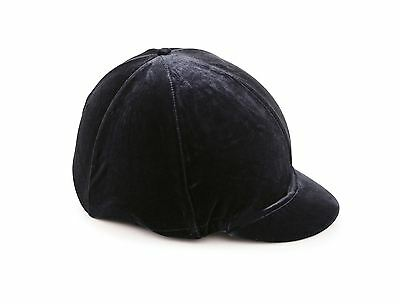 Velveteen Skull Cap Cover Riding Hat