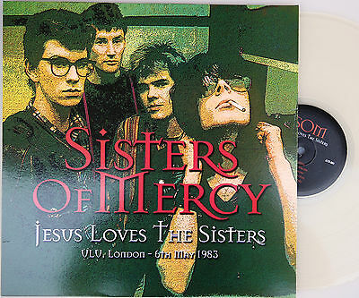 SISTERS OF MERCY Jesus Loves The Sisters CLEAR VINYL LP 06/05/1983 Live @NEW@