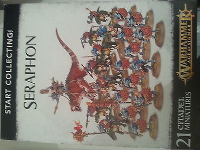 Warhammer Age Of Sigmar Start Collecting Seraphon Box Set - New & Sealed