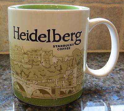 NWT Starbucks HEIDELBERG Germany Global Icon City Collector Series Mug with SKU