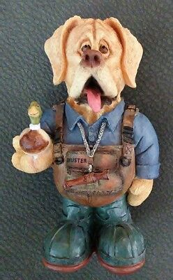 Ducks Unlimited Whimsical Hunter Buster 2007/2008 Exclusive used Yellow lab