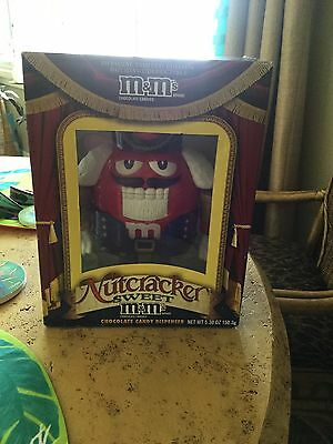 M&M's Nutcracker Sweet Candy Dispenser  (Red) Limited Edition