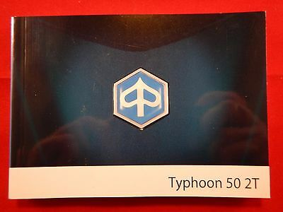 Piaggio Typhoon 50 2T Owners Manual 2008 Handbook 2009