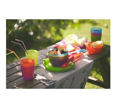 Ikea Kalas Childrens Bowl, Plate, Mugs, Cutlery, Ideal For Parties. BNWT