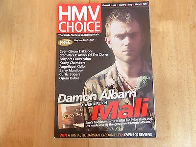 HMV Choice magazine - May/June 2002 - No.14 - Blur Damon Albarn - Mali Music
