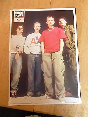 Blur Poster - Melody Maker - circa 1995 - rare and original