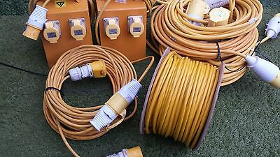 Electric Cables Bundles and Splitter Box New and Used