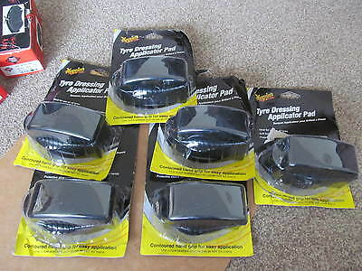 Small Job Lot Of Tyre Dressing Application Pads  Qty 6