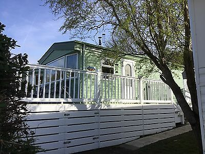 Lovely 8 Berth Static Caravan For Hire, Borth, Mid Wales,Brynowen Holiday Park
