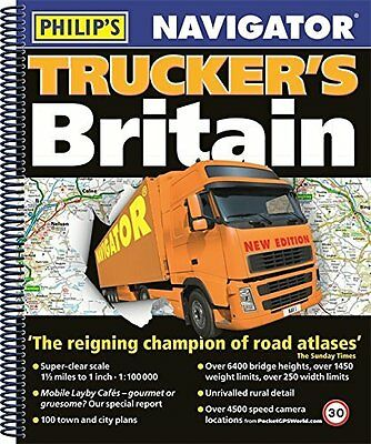 Truckers Atlas Road Navigator Bridge Heights Speed Camera Transport Business Map