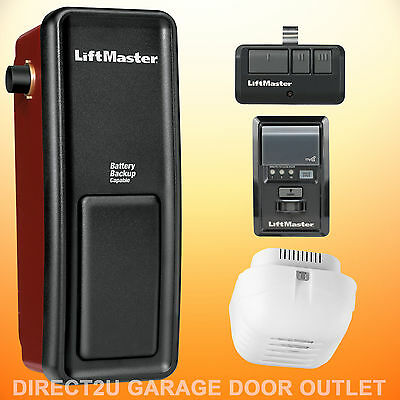 Liftmaster 8500 Wall Mount Garage Door Opener - MULTIPLE PACKAGE DEALS TO CHOOSE