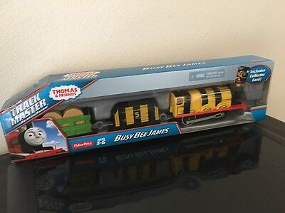 Fisher-Price Trackmaster THOMAS & FRIENDS Busy Bee James Motorized
