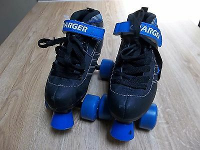 Pacer Charger Kids' Roller Skates Quads P780B Boys Size 2 L