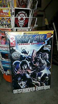 KISS 4K comic book Destroyer Edition 20x30 huge giant oversized limited