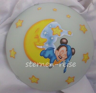 Mickey Mouse on the Moon Lamp Wall Light Ceiling Light Mickey Mouse Baby
