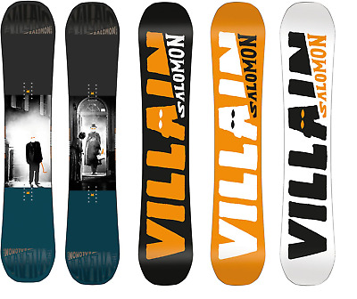 Salomon Villain Mens 2017 Snowboard Board Snow Free Delivery Australia