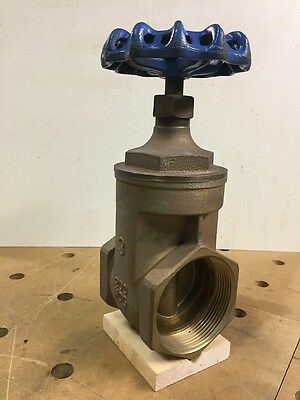 New Nibco Bronze Gate Valve 3""