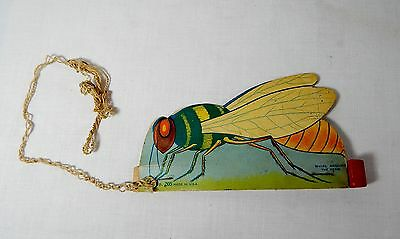 Toy Spinning Bee Advertising For COCO WHEATS Cereal 1950s Toy