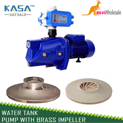 New Water Tank Pump Auto High Pressure with BRASS IMPELLER Garden Irrigatin Farm