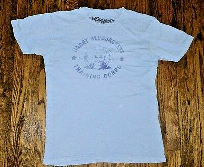 "BLONDIE ""CADET BLUE JACKETS TRAINING CORPS"" T-Shirt by Worn Free - Men's Large"