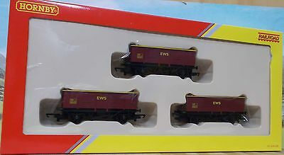 Hornby Oo R6367 Coal Wagon Pack, Nib
