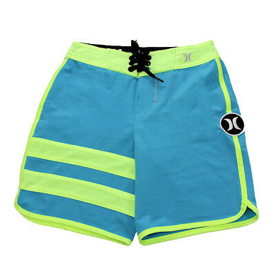 Hurley Youth Phantom Block Party Boardshorts Blue Lagoon 24