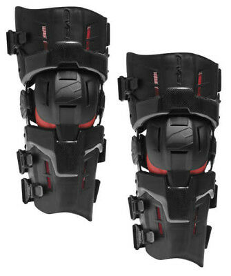 EVS RS9 Pro Knee Brace Carbon Fiber Pair