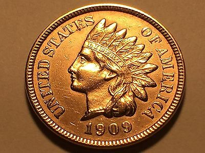 1909-S Indian Head Cent * Penny * Nice BU Red  *