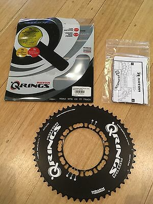 Rotor Q-Rings Aero BCD110x5 55T Outer Chainring Black