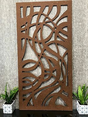 SALE! Espressivo 1200mm x 600mm Decorative Screens - Garden Screen - Wall Art