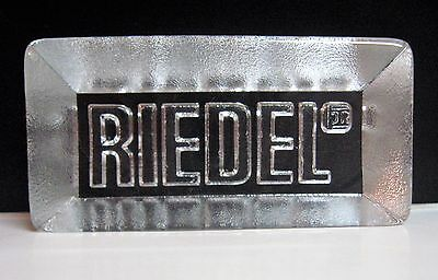 Riedel Wine Glass Advertising Collectible Paperweight Alcohol Spirits
