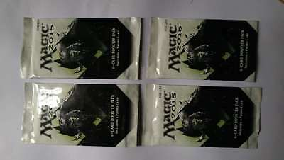 x4 Magic the Gathering 2015 6-Card Booster Packs w/Promo card XBOX MTG
