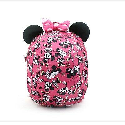 Disney Minnie Mouse Dome Backpack Safety Harness Toddler Bag Licensed GKWH031