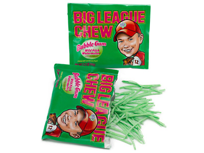 Big League Chew Wild Pitch Watermelon Box of 12