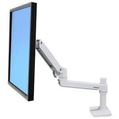 Ergotron Lx Desk Mount Lcd Arm No Grommet Mount Bright White Texture