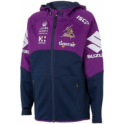 Melbourne Storm NRL 2017 Players ISC Workout Hoody Adults & Kids Sizes!