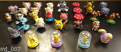 33 Mini Pokemon Figures From 90's/00's, Tomy CGTSJ, Nintendo, Bandai.