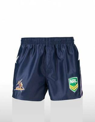Melbourne Storm NRL Supporters Replica On Field Footy Shorts Adults & Kids Sizes