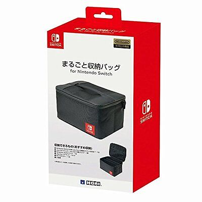 Hori Portable Complete Storage Bag Case for Nintendo Switch JTK-4961818027305