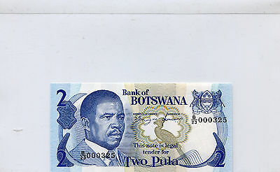 BOTSWANA  7d  --  CU  --  1982  --  LOW NUMBER