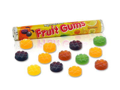 Rowntrees Fruit Gums Roll Box of 36