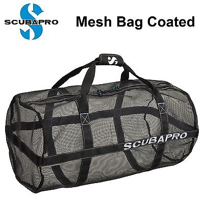 Scubapro Mesh Bag Coated Scuba Dive Gear Bags 53.120.200 Diving - AU