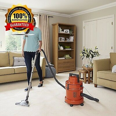 Vax 6131T 3-in-1 Multifunction Dry Vacuum and Carpet Washer in Orange -Brand New