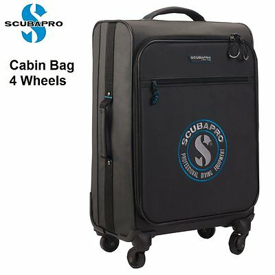 Scubapro Cabin Bag 4 Wheels Scuba Dive Gear Bags Diving 53.365.170 - AU