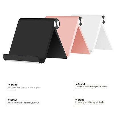 Multi-Angle Universal Mount Angle Desk Stand Phone Holder For Tablet Smartphone